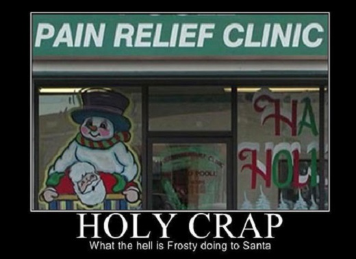Why Does Santa Hurt christmas image