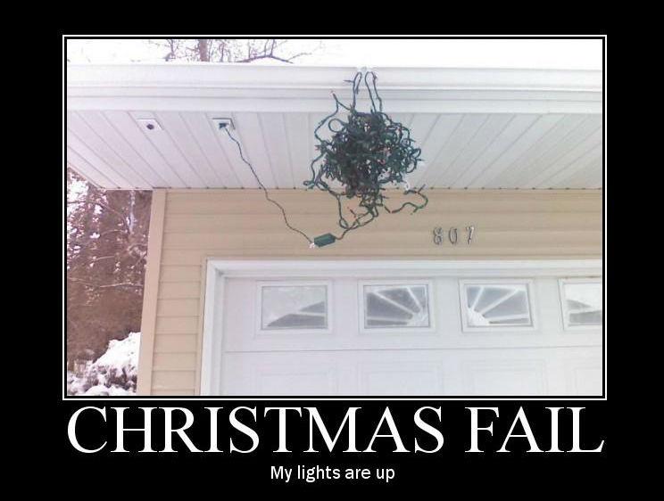 Christmas Lights Fail image
