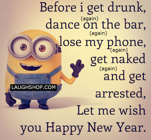 Happy Minion New Year picture
