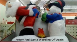 Santa And Frosty Fail