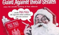 Santa Smokes Pall Mall ols ad image