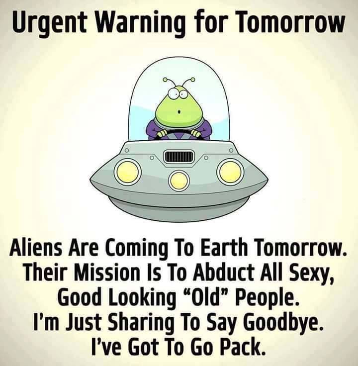 Aliens Are Coming