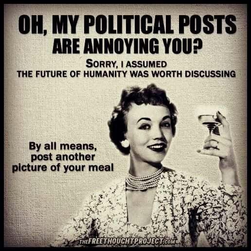 Annoying Political Posts
