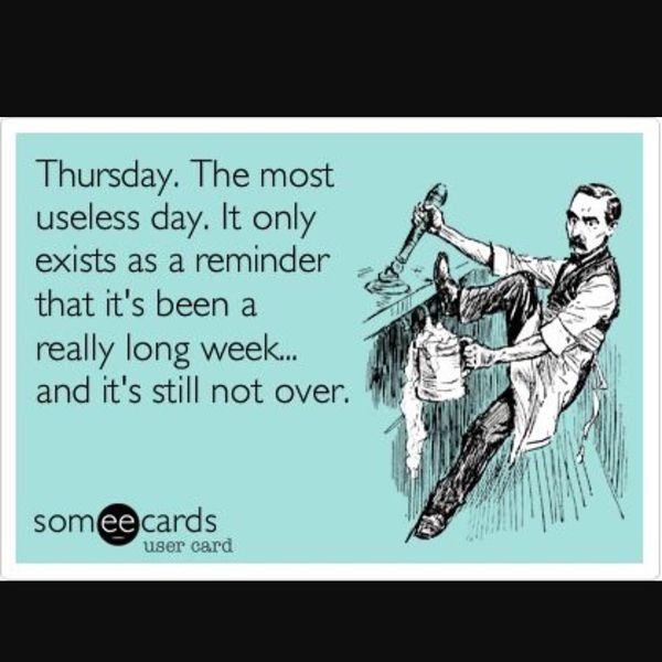 Useless Thursday