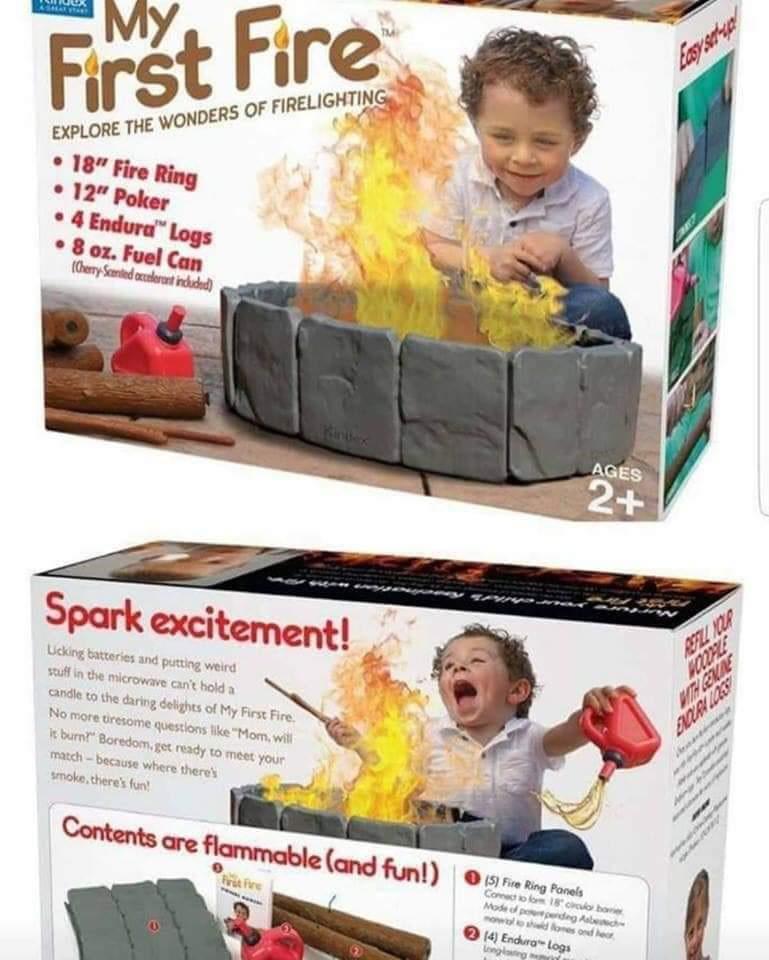 My First Fire Gift Fail