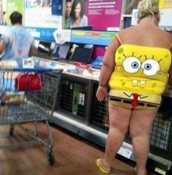 Sponge Bob Walmartian