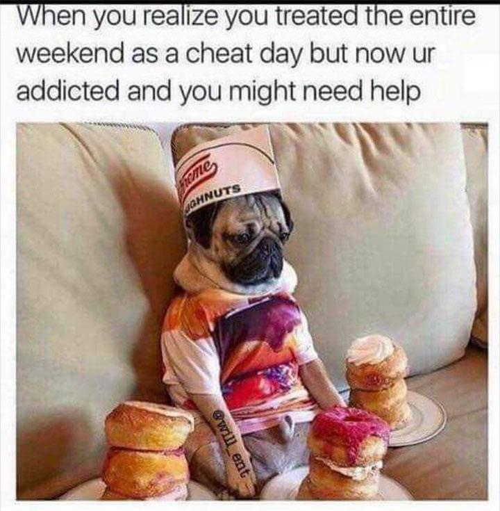 Weekend Diet Cheating
