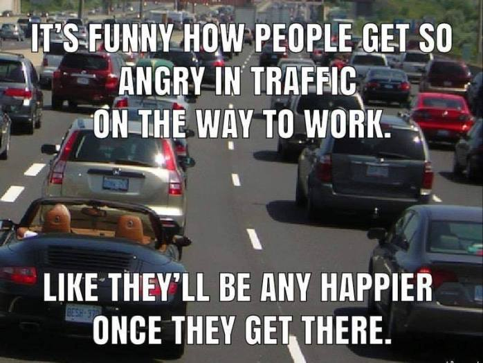 Angry in Traffic