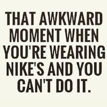 Nike's No Can Do