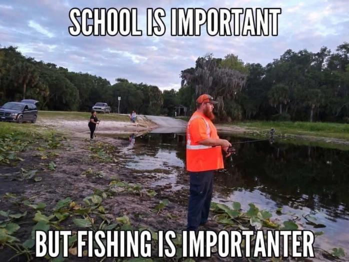 School Important Fishing Importanter