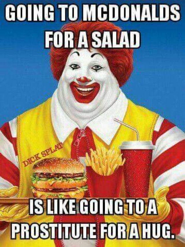 McDonald's Salads
