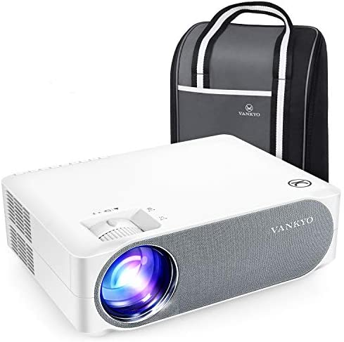 VANKYO Performance V630 Native 1080P Full HD Projector, 300″ LED Projector w/ ±45° Electronic Keystone Correction, Compatible w/ TV Stick, HDMI, Laptop, Smartphone for Home/Business Use