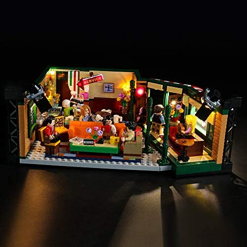 BRIKSMAX Led Lighting Kit for Friends Central Perk – Compatible with Lego 21319 Building Blocks Model- Not Include The Lego Set