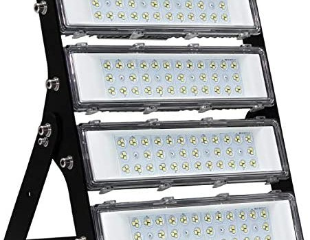 200W LED Flood Light Outdoor with Driver, 2,8000lm Super Bright Security Lights, IP66 Waterproof Outdoor Flood Light, 6500K Daylight White Floodlight for Yard, Garden, Playground, Basketball Court