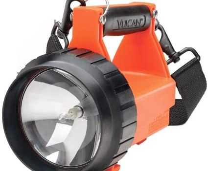 Streamlight 44400 Fire Vulcan Standard System Floodlight with Dual Rear LEDs, Orange