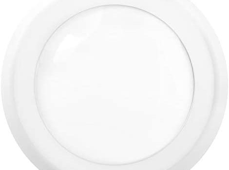 Sunco Lighting 5 Inch / 6 Inch Flush Mount Disk LED Downlight, 15W=100W, 2700K Soft White, 1050LM, Dimmable, Hardwire 4/6″ Junction Box, Recessed Retrofit Ceiling Fixture
