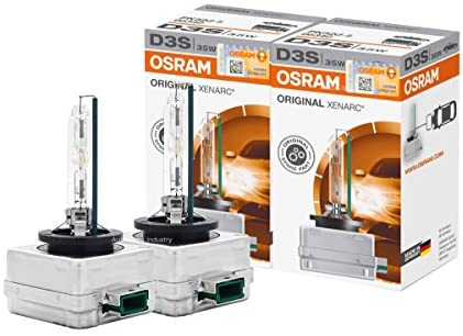 OSRAM XENARC D3S HID Xenon Headlight bulbs 66340 Pack of 2 by ALI