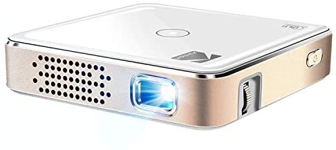 Kodak Ultra Mini Portable Projector – HD 1080p LED DLP Rechargeable Pico Projector – 100″ Display, Built-in Speaker – HDMI, USB and Micro SD – Compatible with iPhone iPad, Android Phones & Devices