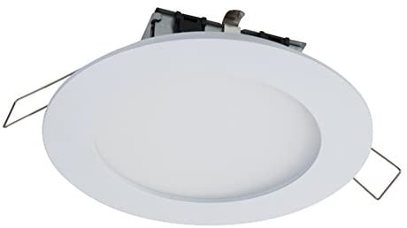 HALO SMD4R6927WHDM SMD 4″ Integrated LED Recessed Round Trim Downlight Direct Mount 90 CRI 2700K CCT, White