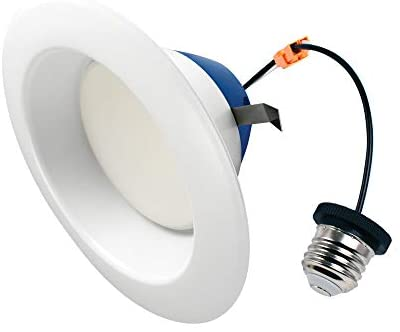 Cree Lighting TRDL6-1604000FH50-12DE26-1-11 6 inch LED Retrofit Downlight 150W Equivalent (Dimmable) 1600, lumens, Cool White 4000K