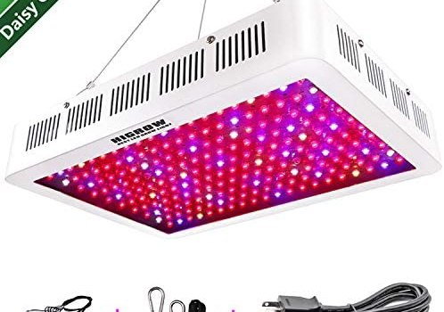 HIGROW 2000W LED Grow Light Full Spectrum Grow Lamp with Rope Hanger and Daisy Chain for Indoor Greenhouse Hydroponic Plants Veg and Flower