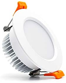 3.5 inch Dimmable LED Downlight, 110V 7W, 4000K Natural White Retrofit Recessed Lighting, CRI 80 with LED Driver, No Can Needed, 1 Pack