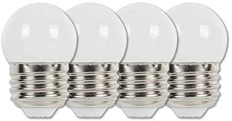 Westinghouse Lighting 4511220 7-1/2-Watt Equivalent S11 White LED Light Bulb with Medium Base (4 Pack)
