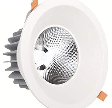 Sunny Lingt 10W Spotlight Anti-Corrosion LED Downlight, Household Spot Lighting, Bedroom Kitchen COB Recessed Downlights, Anti-Glare led Ceiling Lamp, Fire Rated Energy Saving Wash Wall Lights
