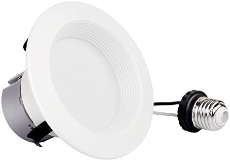 4inch Dimmable Retrofit LED Downlight, 8W (60W Equivalent),Replacement, EASY INSTALLATION, Retrofit LED Recessed Lighting Fixture, UL and ENERGY STAR Classified (3000K、4000、5000K) (6 PACK, 3000K)