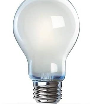 Feit Electric A1975/827/FIL/2 75W Equivalent Dimmable A19 Filament (2-Pack) LED Light Bulb, 4.4″H x 2.4″D, Soft White 2700K, 2 Piece