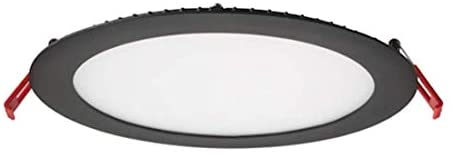 Lithonia Lighting WF6 LED 27K30K35K 90CRI MB M6 Dimmable Switchable Color Temperature Recessed Light, 3000K, 1150 Lumens, Black