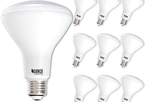 Sunco Lighting 10 Pack BR30 LED Bulb 11W=65W, 3000K Warm White, 850 LM, E26 Base, Dimmable, Indoor Flood Light for Cans – UL & Energy Star