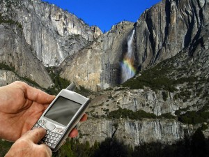 Cell Phones in Yosemite