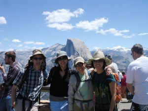 Cousins at Glacier Point