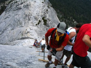 Half Dome cables in 2006