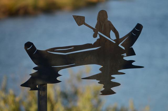Ann Altstatt Canoe Down River
