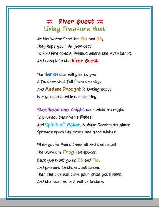 River Quest Poem