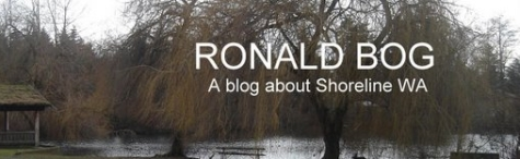 Ronald Bog blog - all about Shoreline Washington