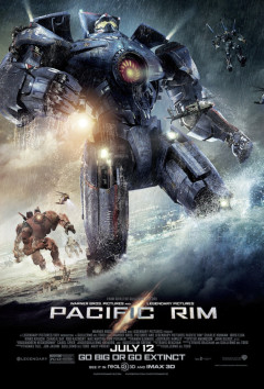Guillermo del Toro Pacific Rim Movie Poster