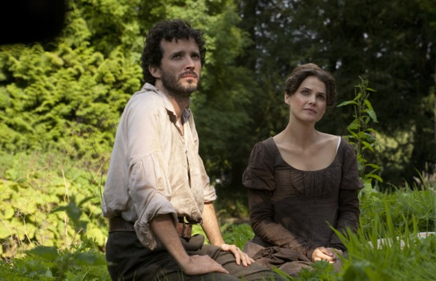 Austenland Movie Still 2 Bret McKenzie & Keri Russell