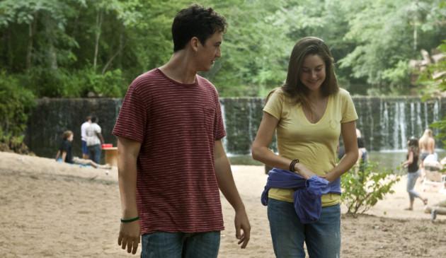 The Spectacular Now Movie Still 1 Miles Teller & Shailene Woodley
