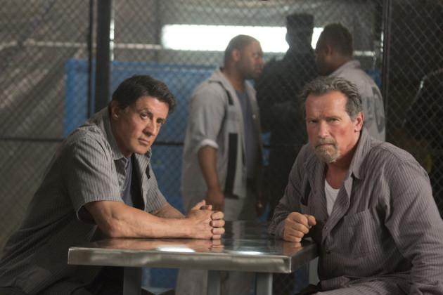 Escape Plan Movie Still 1 - Sylvester Stallone & Arnold Schwarzenegger