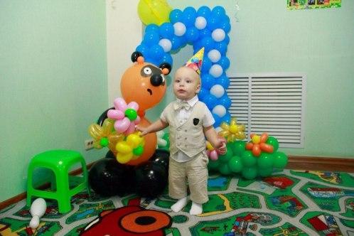 день рождения один год в детском центре