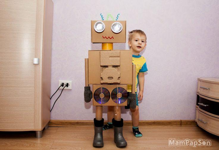 Как сделать своими руками робота в 28