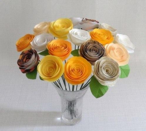 мастер класс как сделать цветы своими руками крепим на палку mamaclub.ru