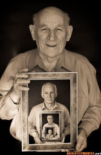 фото мужского поколения от деда к правнуку в подарок для папы на 23 февраля