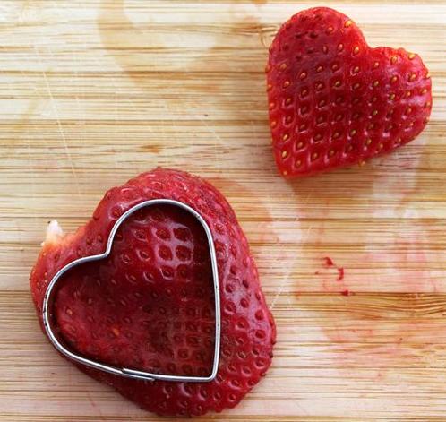 идеи для завтрака для любимого сердечки из клубники
