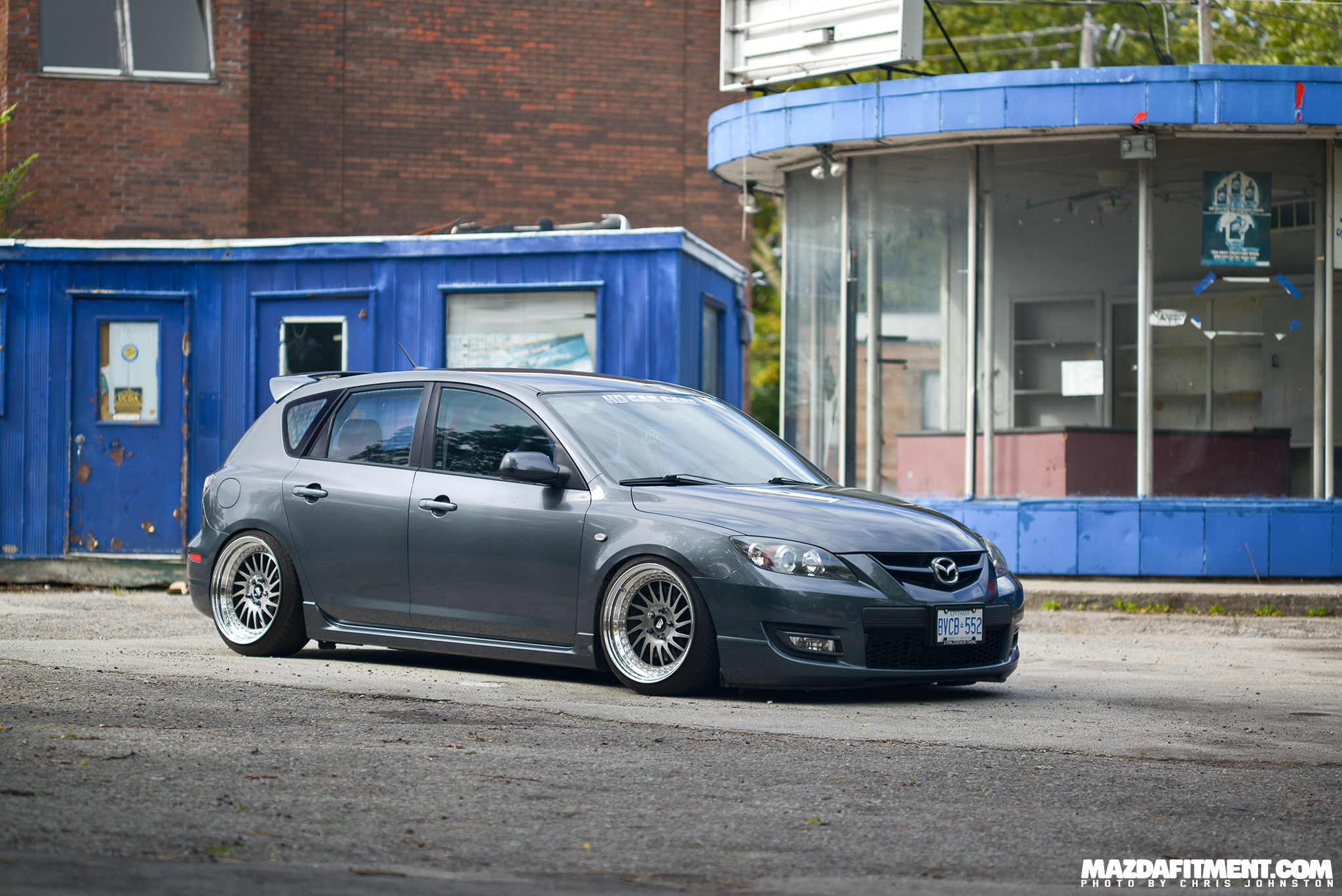 Stance Is Everything Mazdaspeed 3 Mazda Fitment