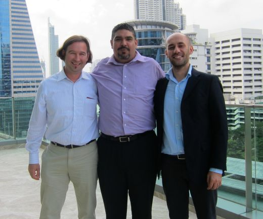 Mike Dietrich, Francisco Alvarez Munos, Kamran Agayev