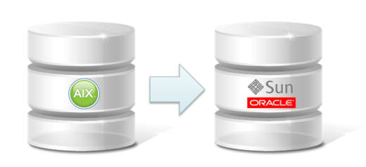 Migration Oracle on AIX to SPARC SOLARIS
